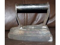 Antique Flat Clothes Iron No.6
