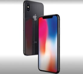 Apple iPhone X, 256GB, Space Grey. New, sealed and unopened!