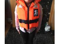 Secumar junior life jackets