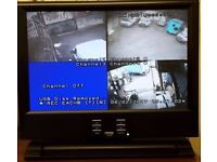 Dvr combo all in one colour 4 cctv recorder, spares or repair