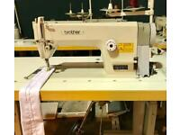 Brother Japan Flat Induatrial Sewing Machine ECO motor speed control