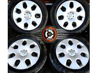 """16"""" Vauxhall Astra steel wheels, trims, excel matching tyres."""