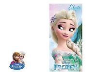 Disney Frozen Elsa Bath Beach Towel Brand New Sealed 100% cotton