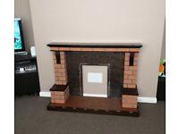 Fireplace/surround