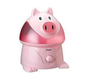 NEW Crane Cool Mist Pink Pig Humidifier