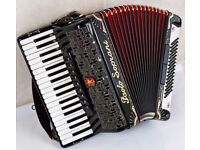 Paolo Soprani Professionale IA - 37 Keys / 96 Bass - 4 Voice Musette Accordion