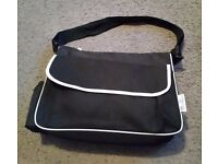 BOOTS Baby Changing Bag - BLACK - with Pampers Changing Mat