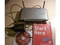 Belkin wireless router 54G -Model F5d7230-4