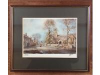 "Walter Holmes limited edition signed print of ""Corbridge"""