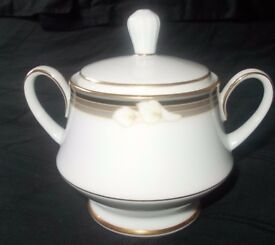 Noritake Ellington covered sugar bowl