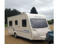 BAILEY RANGER 6 460/4 March 2010 Light Weight Caravan. Clean & Tidy Ready to Tow & Go