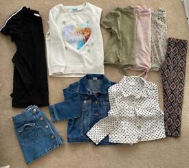 Girls 5-6 clothes bundle