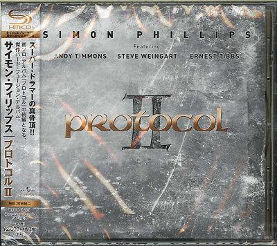 SIMON PHILLIPS-PROTOCOL II-JAPAN SHM-CD F83