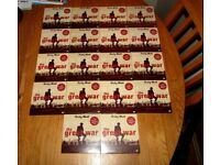 The Great War, Complete 19 disc/dvd set (Daily Mail Promo dvds).