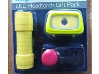 SUPER BRIGHT LED TOUCH AND HEAD TORCH