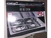 Cata 60cm Gas Hob. New/sealed.