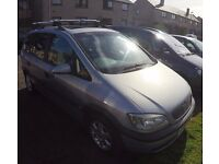 vauxhall zafira 1.8 (1999) 115K no MOT for spare or repair