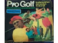 Rare pro golf game 1969 complete