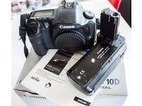 Canon 10d body+BG-ED3 Grip