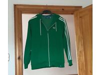 Official Adidas Zippy with hood