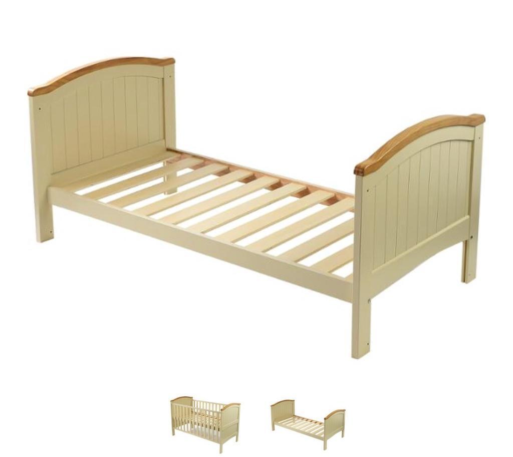 best service 7a570 ee7b1 Henley Cotbed in Cream with Oak Trim, Cot Bed, Includes Mattress - Babies r  Us | in Creswell, Nottinghamshire | Gumtree