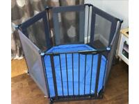 Lindam Safe & Secure Fabric Playpen / Room Divider, cost £95. Can deliver if local