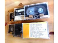 High quality audio cassettes with music