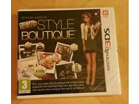 New Style Boutique Nintendo 3DS Game - New