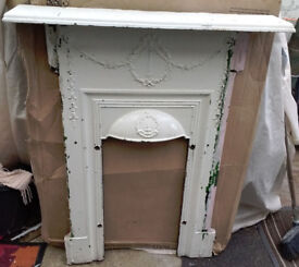 Cast Iron Fire Surround and Mantle