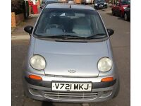 Daewoo Matiz 0.8LT for sale runs perfect no problems,ideal first car