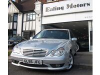 IMMACULTE MERCEDES C220 SPORT,DIESEL,AUTOMATIC,FULL LEATHER SEATS,FULL HISTORY,HPI CLEAR,AC,CD,ALLOY