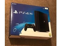 ps4 pro new sealed with sealed wildlands swap for nintendo switch