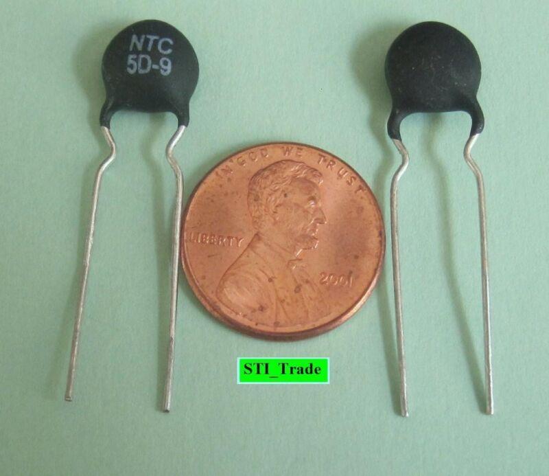 2X 5D-9  ICL Thermistor NTC  3A 5 Ohm - Ametherm SL08 5R003, SL10 5R003 & SG413