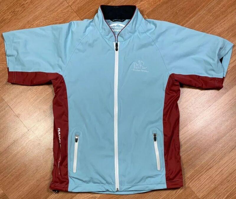 Sun Mountain RFXX SS Short-Sleeve Rainflex Waterproof Golf Jacket Women