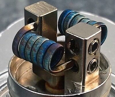 Framed Staple Coils V8, 3mm, 0,16Ohm dual, Corona V8, Manta RTA, Aromamizer