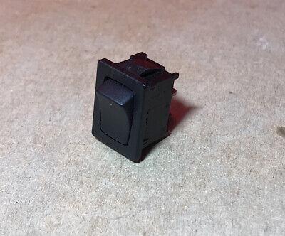 Toggle Switch On Off Black 10a 125-250vac 13hp 125vac 12hp 250vac