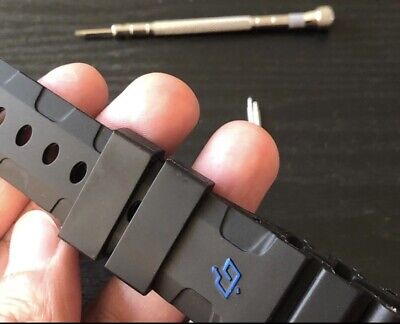 Panerai Luminor Rubber Watch Band 24mm With The Buckle Panerai Rubber Band