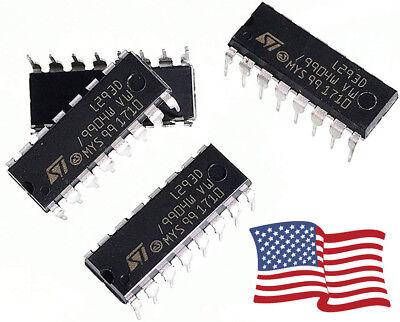 L293d Dip-16 Stepper Motor Driver Controller Ic Dc Wh-bridge 2 Full 4 Half-5pcs