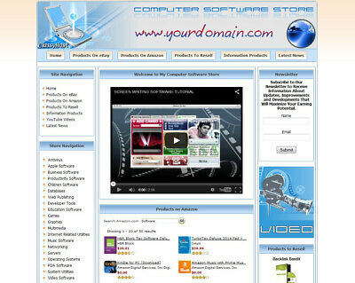 Software Store Website - Turnkey Online Business