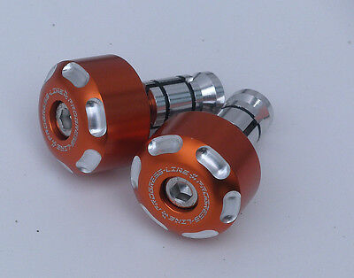 KTM  Superduke 1290R Mod.014 Lenkergewichte Alu  Orange