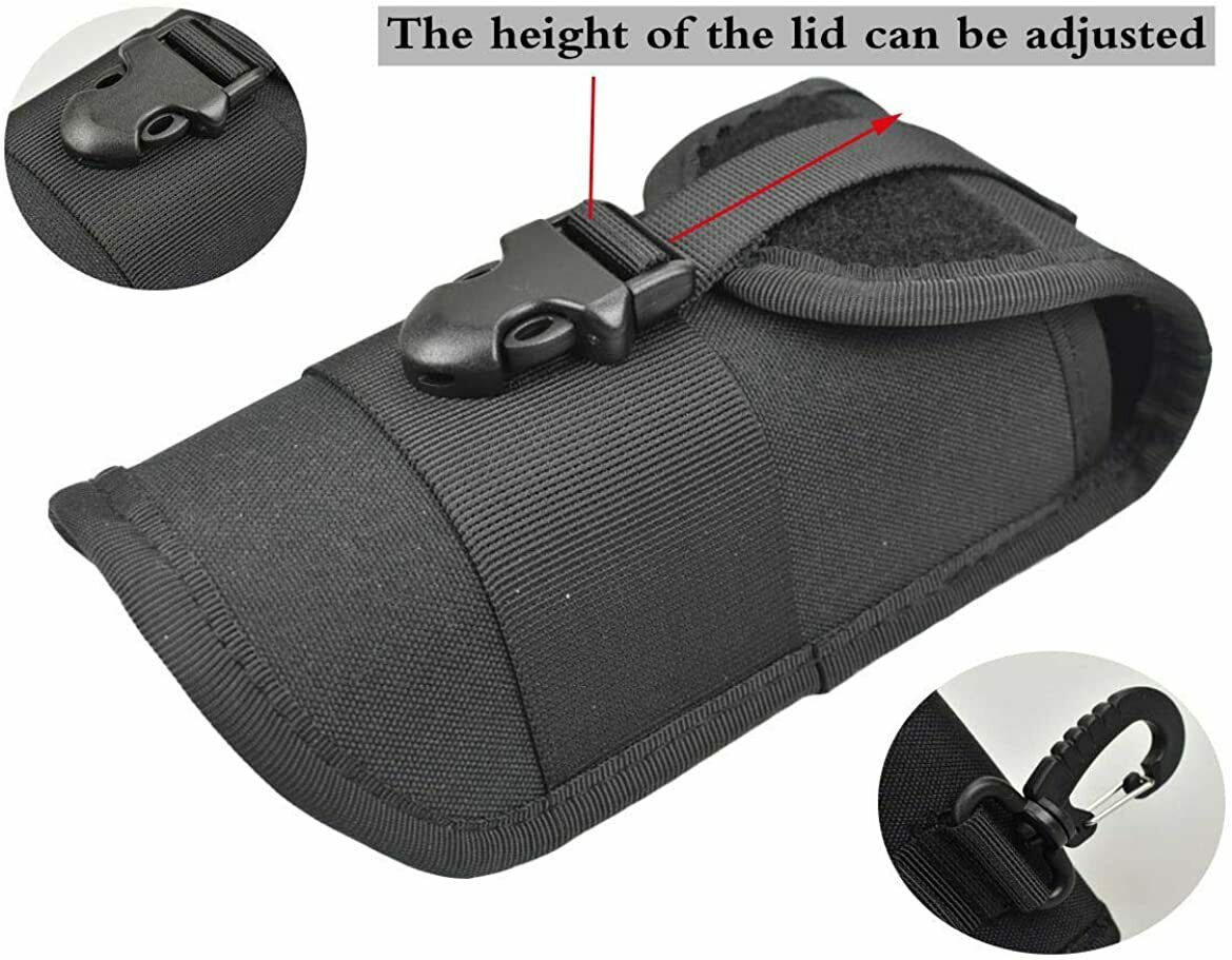 MOLLE Glasses Pouch Outdoor Sports Durable Tactical Pouch Sunglasses Case US Eyeglass Cases & Storage