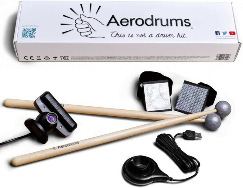 Aerodrums Digital Air Drums, Electronic Drums with Virtual Reality Option MIDI