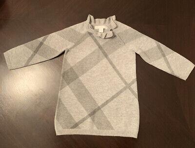 Burberry Baby Girl Cotton Dress 12 Months