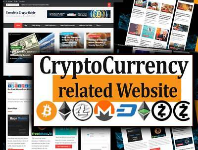 Turnkey Bit Coin Website   Autopilot News With Ads And Affiliates