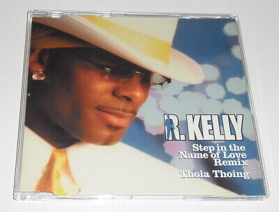 R KELLY - STEP IN THE NAME OF LOVE REMIX - 2003 UK ENHANCED CD
