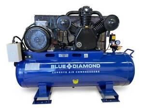 Electric Air Compressor Piston 10HP 42CFM 160L 145PSI Laverton North Wyndham Area Preview