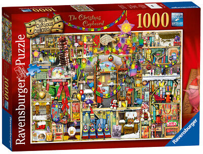 19468 Ravensburger The Christmas Cupboard Colin Thompson 1000pc [Jigsaw Puzzle] ()