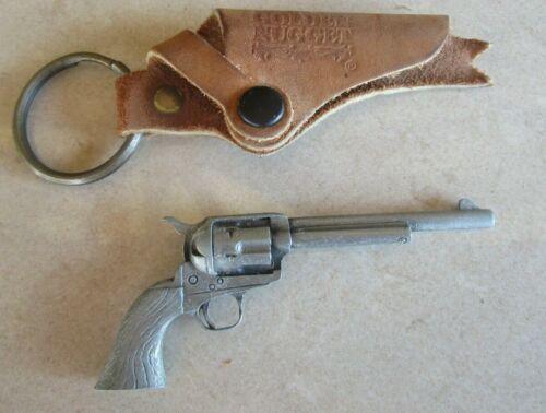 Vintage Golden Nugget Gun Key Chain