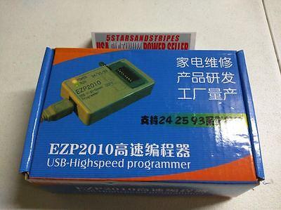 EZP2010 Bios Chip USB High Speed SPI Programmer Kit EEProm Flash 24Cx 25Cx 93C