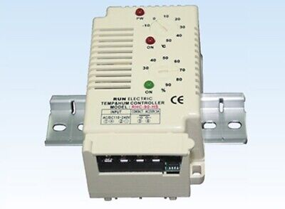 Run Electronic RHC-90-HS Temperature Humidity Controller -10~50C° 30~90% Heater